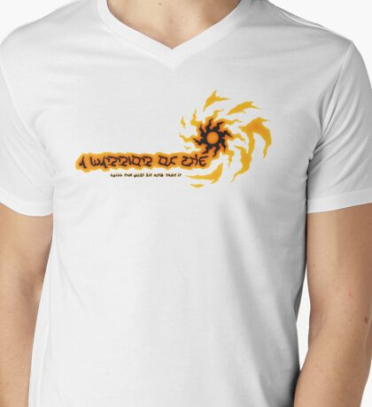 A Warrior Of The Sun - Summon Sign Mens V-Neck T-Shirt