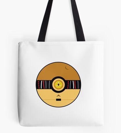 C3PO Pokemon Ball Mash-up Tote Bag