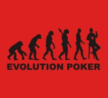 Evolution Poker Kids Tee