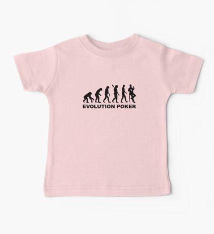 Evolution Poker Baby Tee