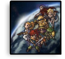 Chrono Chibi Space Canvas Print
