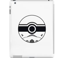 Stormtrooper Pokemon Ball Mash-up iPad Case/Skin