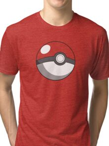pokeball design Tri-blend T-Shirt