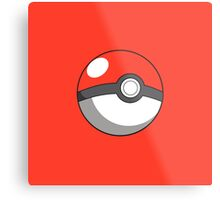 pokeball design Metal Print