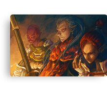 Evil Chrono Canvas Print