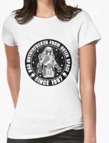 Bad Mofo from Outer Space Womens Fitted T-Shirt