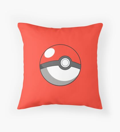 pokeball design Throw Pillow