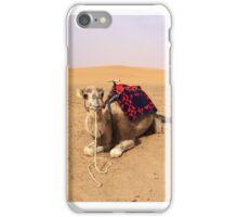 Camels in Sahara Desert iPhone Case/Skin