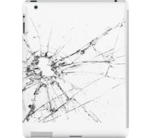Bullet Hole in the Glass iPad Case/Skin