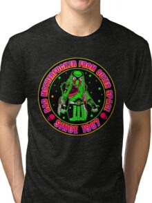 Bad Mofo from Outer Space Colour Tri-blend T-Shirt