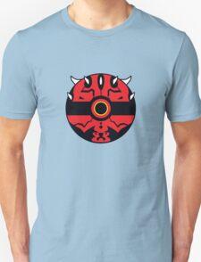 Darth Maul Pokemon Ball Mash-up Unisex T-Shirt