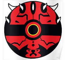 Darth Maul Pokemon Ball Mash-up Poster