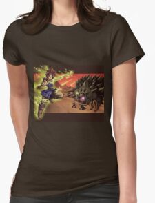 Lavos Final Boss Womens Fitted T-Shirt