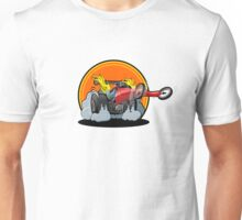 Cartoon dragster Unisex T-Shirt