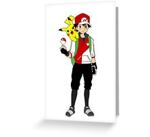 Pokemon GO Trainer  Greeting Card