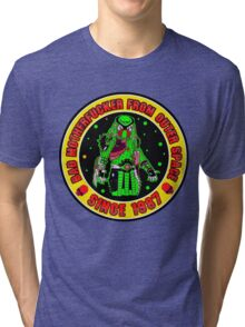 Bad Mofo from Outer Space Colour 2 Tri-blend T-Shirt