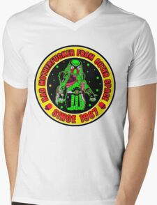Bad Mofo from Outer Space Colour 2 Mens V-Neck T-Shirt