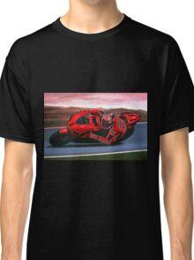 Casey Stoner on Ducati painting Classic T-Shirt