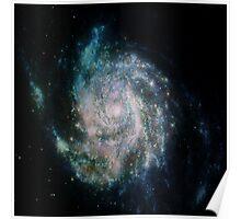 Spiral Galaxy - clean Poster