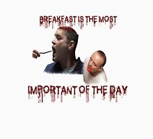Hannibal - Breakfast is the most important of the day ( El desayuno es lo más importante del dia) Men's Baseball ¾ T-Shirt