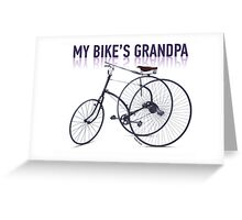 OLD BICYCLES 2 Greeting Card
