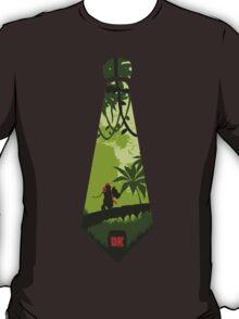 DK tie Donkey kong Jungle mario nintendo contry cravate  t-shirt teeshirt tee shirt tshirt T-Shirt