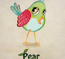 Pear Bird by Princess-Suki