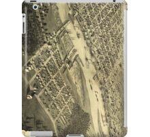 Vintage Map of Bay City Michigan (1867) iPad Case/Skin