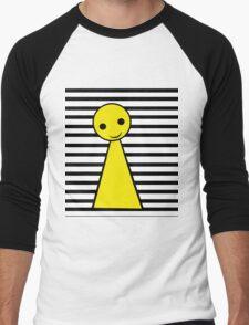 Yellow pawn Men's Baseball ¾ T-Shirt