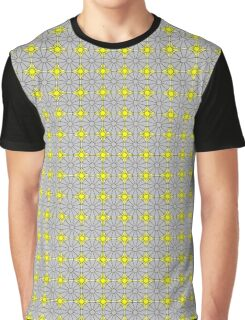 Yellow Suns and Gray Shells Graphic T-Shirt