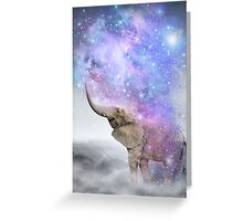 Don't Be Afraid To Dream Big • (Elephant Size Dreams) Greeting Card