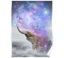 Don't Be Afraid To Dream Big • (Elephant Size Dreams) Poster