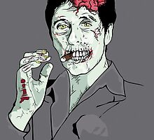 Zombie Al Pacino Scarface by Creative Spectator