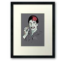 Zombie Al Pacino Scarface Framed Print