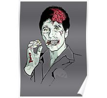 Zombie Al Pacino Scarface Poster