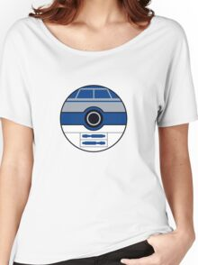 R2D2 Pokemon Ball Mash-up Women's Relaxed Fit T-Shirt