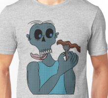 Zombie and Bacon  Unisex T-Shirt