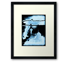 Blue Lagoon Framed Print