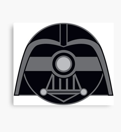 Darth Vader Pokemon Ball Mash-up Canvas Print