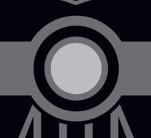 Darth Vader Pokemon Ball Mash-up Sticker