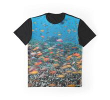 Rainbowed Sea Graphic T-Shirt
