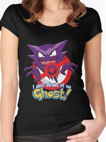Haunter Busters! Women's Fitted Scoop T-Shirt