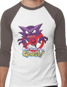 Haunter Busters! Men's Baseball ¾ T-Shirt