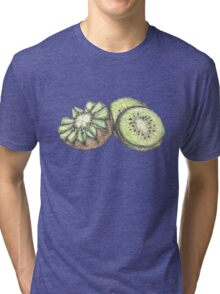 Cut Kiwi Tri-blend T-Shirt