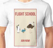 Flight School Illustration Unisex T-Shirt
