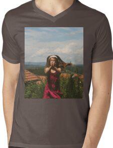 Vintage love Mens V-Neck T-Shirt