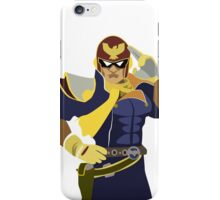 Captain Falcon Vector iPhone Case/Skin