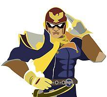 Captain Falcon Vector by chrispocetti