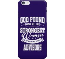 JOB - The Strongest women - Advisors T- shirt  - Special design and lovely iPhone Case/Skin