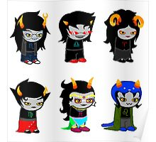 Homestuck Alpha Troll Ladies Poster